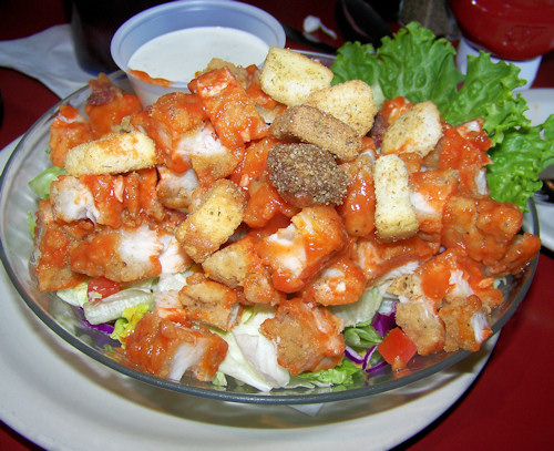 Buffalo Chicken Salad - Yum!