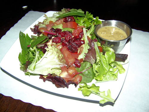 Side Salad (Greens, tomato, cranberries, sunflower seeds)